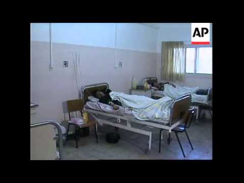 PALESTINE/ISRAEL: CHOLERA OUTBREAK IN GAZA STRIP