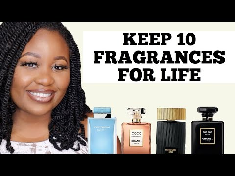 KEEP ONLY 10 FRAGRANCES FOR LIFE DESIGNER EDITION | 2020 UPDATED PERFUME COLLECTION