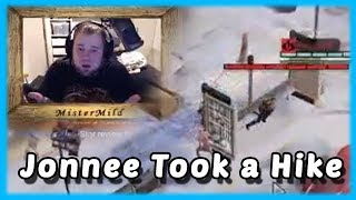 Jonnee Took a Hike - MisterMildTV Twitch Highlight