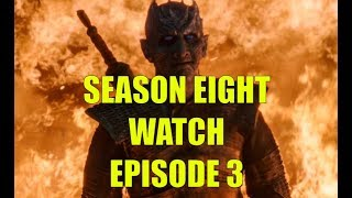 Preston's Game of Thrones Season Eight Watch - Season 8 Episode 3 Long Night Review