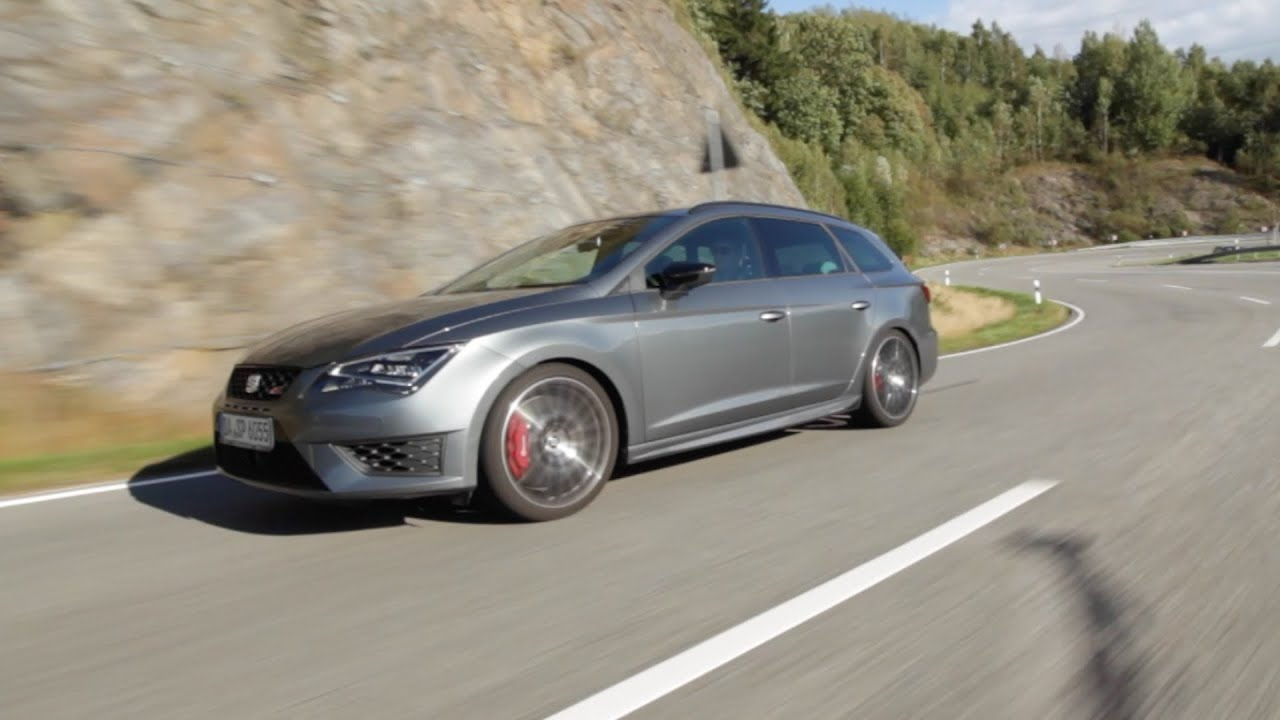 seat leon st cupra performance paket 2015er test drive. Black Bedroom Furniture Sets. Home Design Ideas