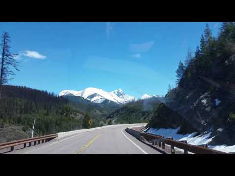 Highway 2 a little out of west glacier easter2017
