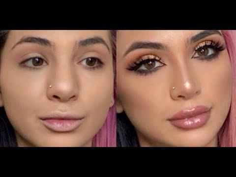 FAKE A NOSE JOB! Contouring your nose! | SadiaSlayy