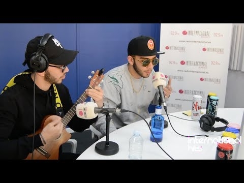 MANUEL TURIZO cantando en vivo - International Hits con Edu Peñaloza