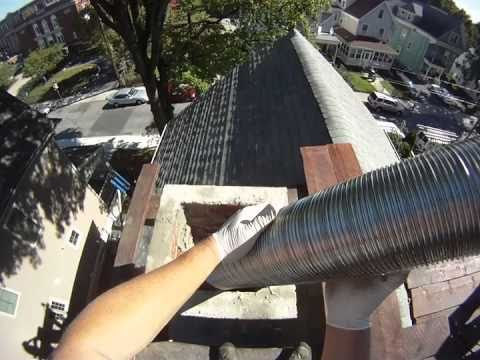 How To Install A Stainless Steel Chimney Liner Doovi