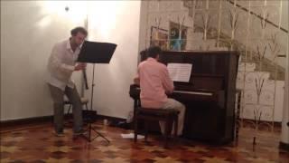 """""""Proezas de Nolasco"""" Oboe e Piano"""