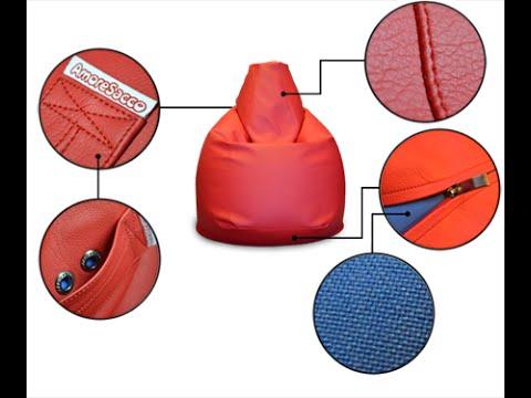Как сделать своими руками удобное и оригинальное кресло-мешок