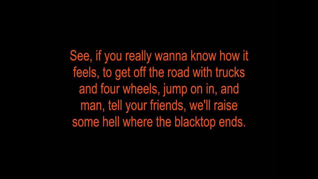 Jason Aldean - Dirt Road Anthem (Lyrics) HD - YouTube