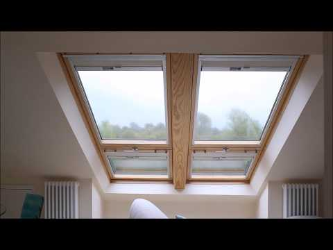 VELUX Cabrio Balcony Black-out Blinds In Loft Conversion