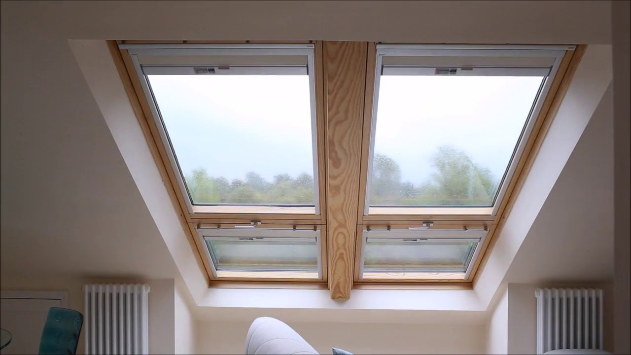Velux Cabrio Balcony Black Out Blinds In Loft Conversion Youtube