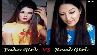 Download Fake Girl Vs Real Girl | Monti Roy TikTok |Viral  Monti Roy video |viral Monty Roy Tik Tok