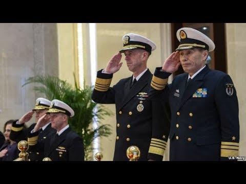 《石涛聚焦》「台海危机」美国海军作战部长『派航空母舰穿越台湾海峡』强硬回应中共上将李作成无理当面威胁-如美国作为外部势力支持台独 中共敢与美军交战