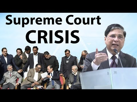 Supreme Court Crisis - Chief Justice CJI Vs four 4 Judges - Current Affairs 2018
