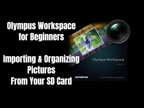 Olympus Workspace For Beginners: Import & Organize Pics From Your SD Card Ep.149