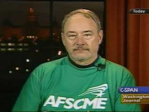 Interview with AFSCME Union political Director Larry Scanlon