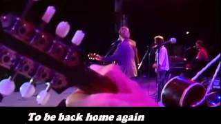 Back home again Karaoke version