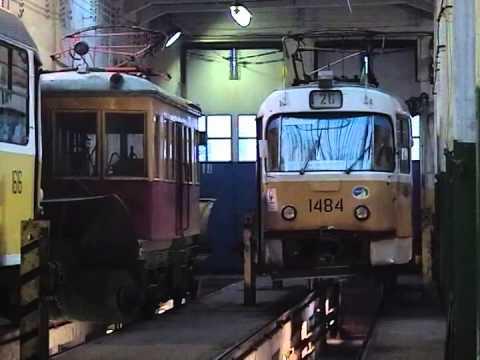 Апаковское трамвайное депо в 2004 году