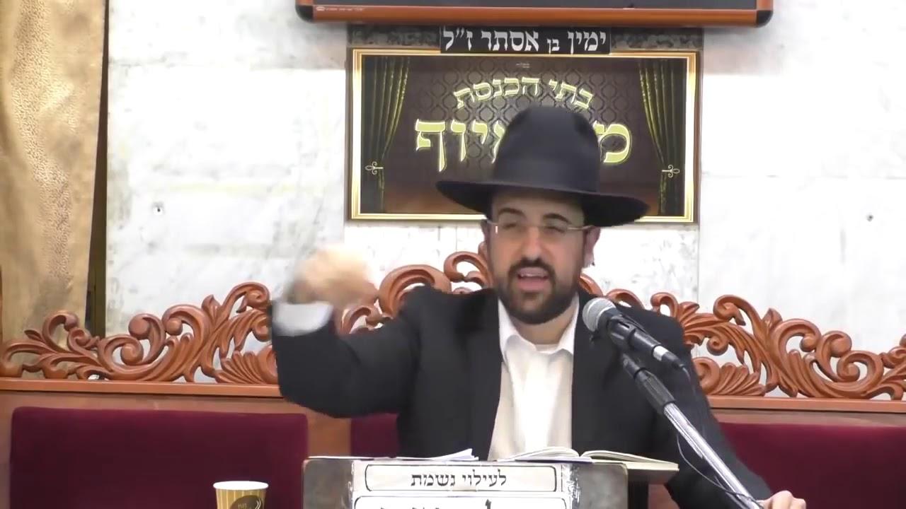 הרב מאיר אליהו שליט''א - הכנעה לגדולי הדור - (פרשת לך לך  תשע'ט)