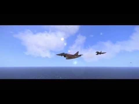 ARMA 3 music video  Flying jets HD1080p