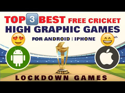 [FREE] Best Cricket Games For Android | Best Game Of Cricket