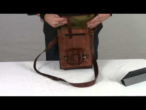 5e3ec519fb64 Komal s Passion Leather 11 inch Satchel - YouTube