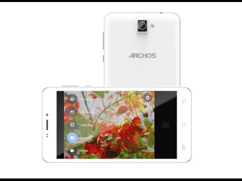 Archos 59 Titanium Hard Reset and Forgot Password Recovery, Factory Reset