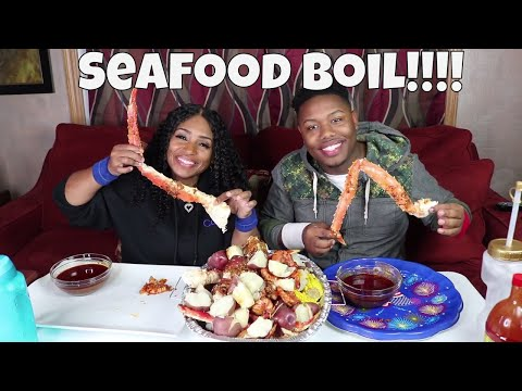 Seafood Boil Special Blove and ZaddyChunkChunk Sequel King Crab Legs