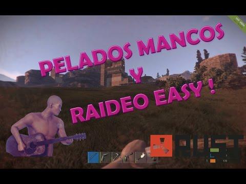 RUST #1 - RAIDEO AL VECINO MANCO - GamePlays en ESPAÑOL !