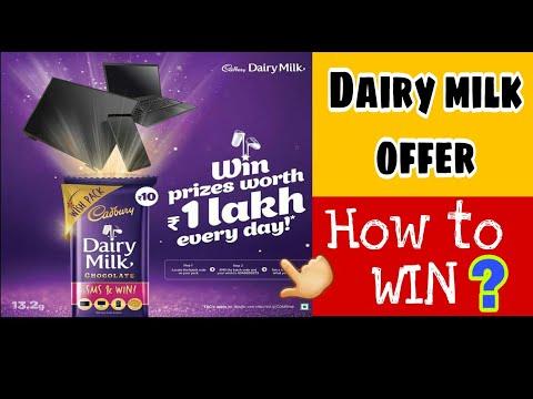 Cadbury dairy milk offer,win prizes worth 1lakh rupees