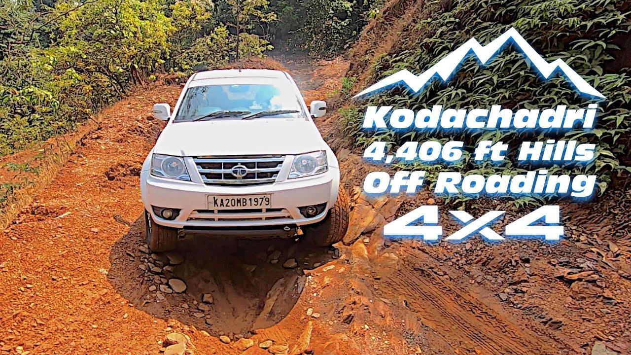 Kodachadri hill Off road Adventure on a 4X4 and Trekking  | Full detailed video