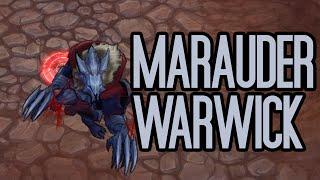 Marauder Warwick Skin Spotlight Gameplay - League of Legends