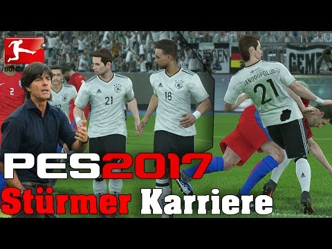 LÖW GIBT UNS DIE CHANCE!🙌😃 Stürmer Karriere - Pro Evolution Soccer 2017 -08