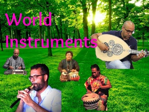 World Music & Instruments from all over the World