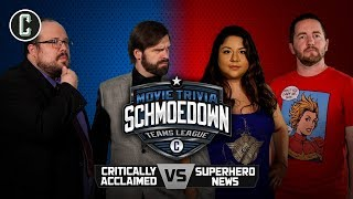 Critically Acclaimed vs. Superhero News - Movie Trivia Schmoedown