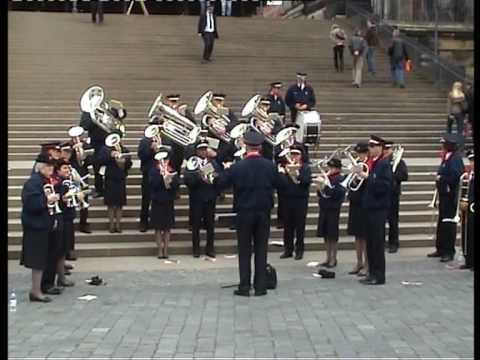 Chicago Staff Band in Dresden (1/3)