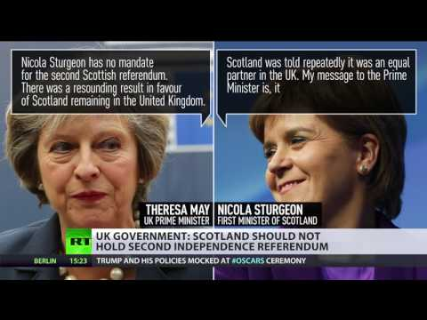 #IndyRef 2.0? Second Scottish referendum would derail May's Brexit strategy