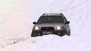 Audi 100 quattro 23 B2 1987m VS Subaru forester 25