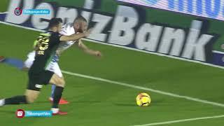 Akhisar - Trabzonspor maçından enstantaneler