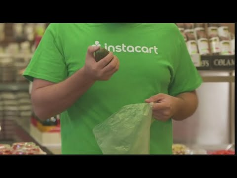 Personal shoppers complain about a pay cut with Instacart