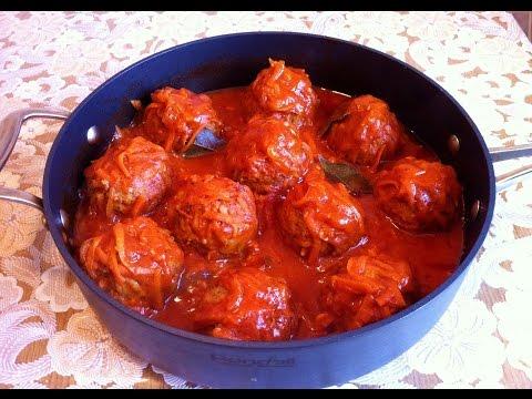 Мясные Ежики в Томатном Соусе/Тефтели с Рисом/Meatballs With Rice/Простой Рецепт(Очень Вкусно)