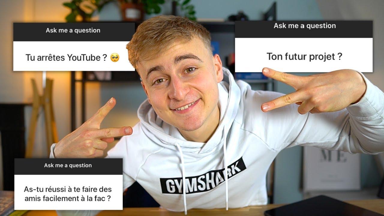Je réponds à vos questions (fin de mes études, mon avenir sur Youtube..)