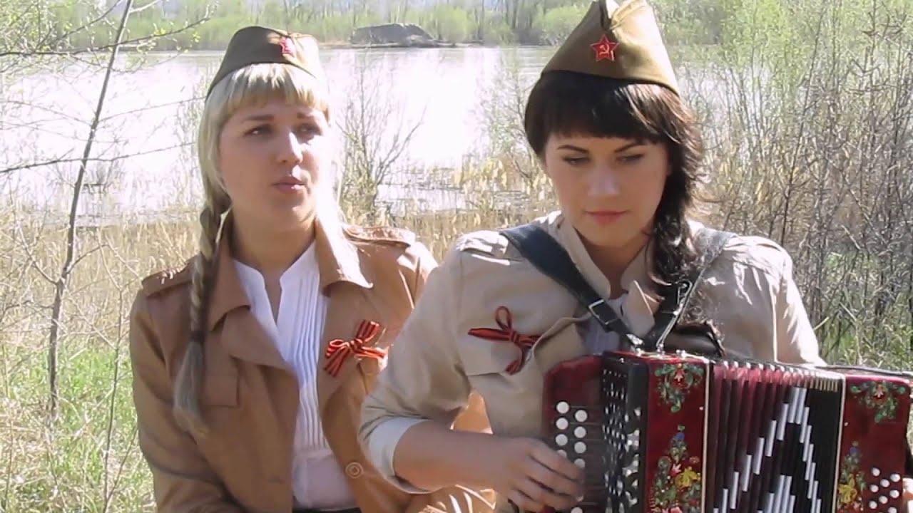 Песни военных лет под гармонь.70-летию Великой Победы посвящается...