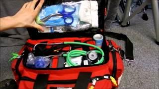 Kemp Professional Trauma bag/EMS/EMT/PARAMEDIC BAG/First responder bag