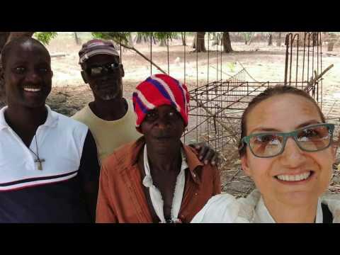 Acqua in Guinea Bissau villaggio N'Tchangue 2017