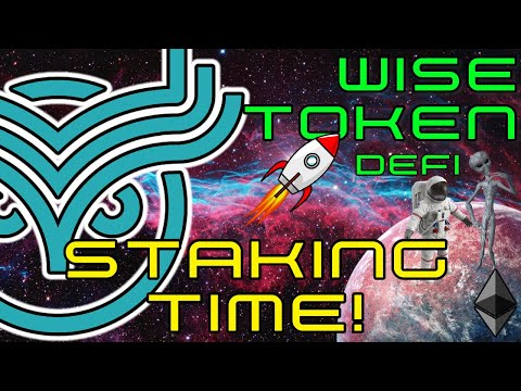 WISE Token | STAKING Time!