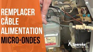 Comment réparer votre four à micro-ondes - Remplacer le câble d'alimentation ?