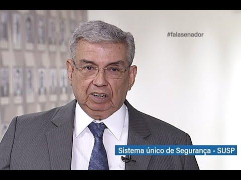 #falasenador: Garibaldi destaca importância do Sistema Único de Segurança Pública