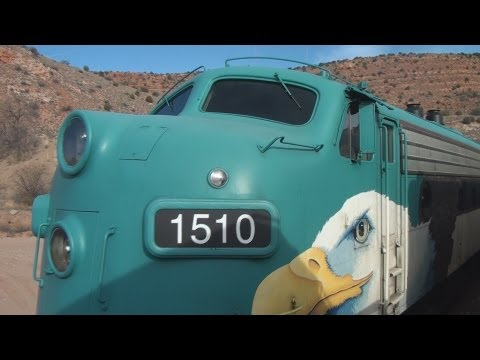 Arizona Train Ride: Verde Canyon Railroad