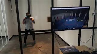 Main Game VR Thrill of Fight di VRRoom Bandung