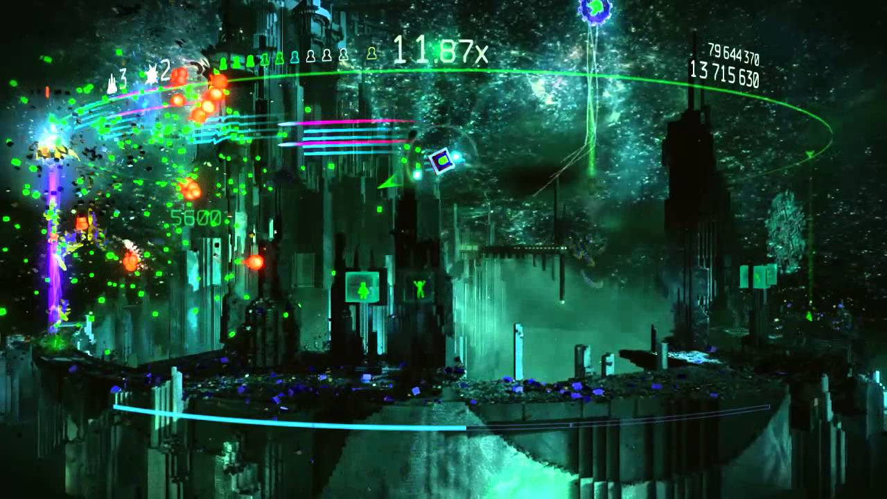 Doubt Equals Ammo Plays Resogun on Master Difficulty